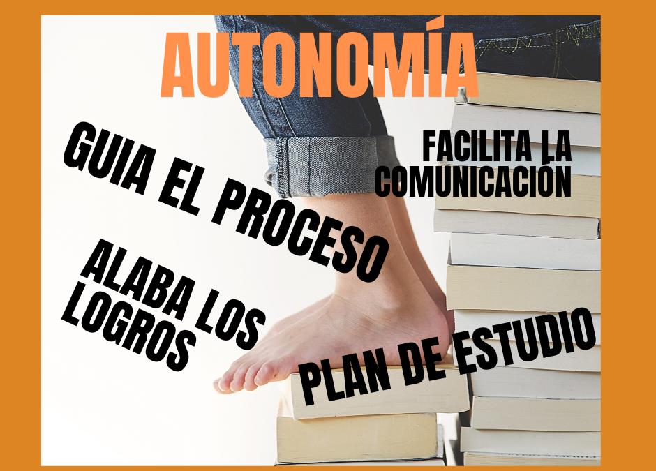 Cinco consejos para fomentar la autonomía en el estudio de tu hij@.